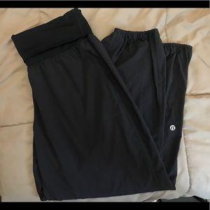Lululemon studio style cropped pants